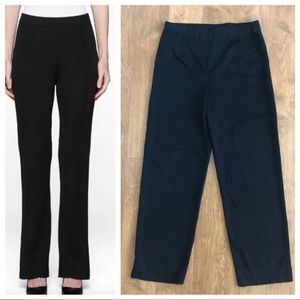 Misook Knit Straight Leg Pull On Pants XS
